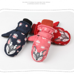 Ski Gloves Winter Waterproof Kids Children Black Red Sport Blue Oem Customized gloves