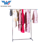 Stainless Steel All Metal Extendable Clothes Garment Shoes Coat Clothing Rack