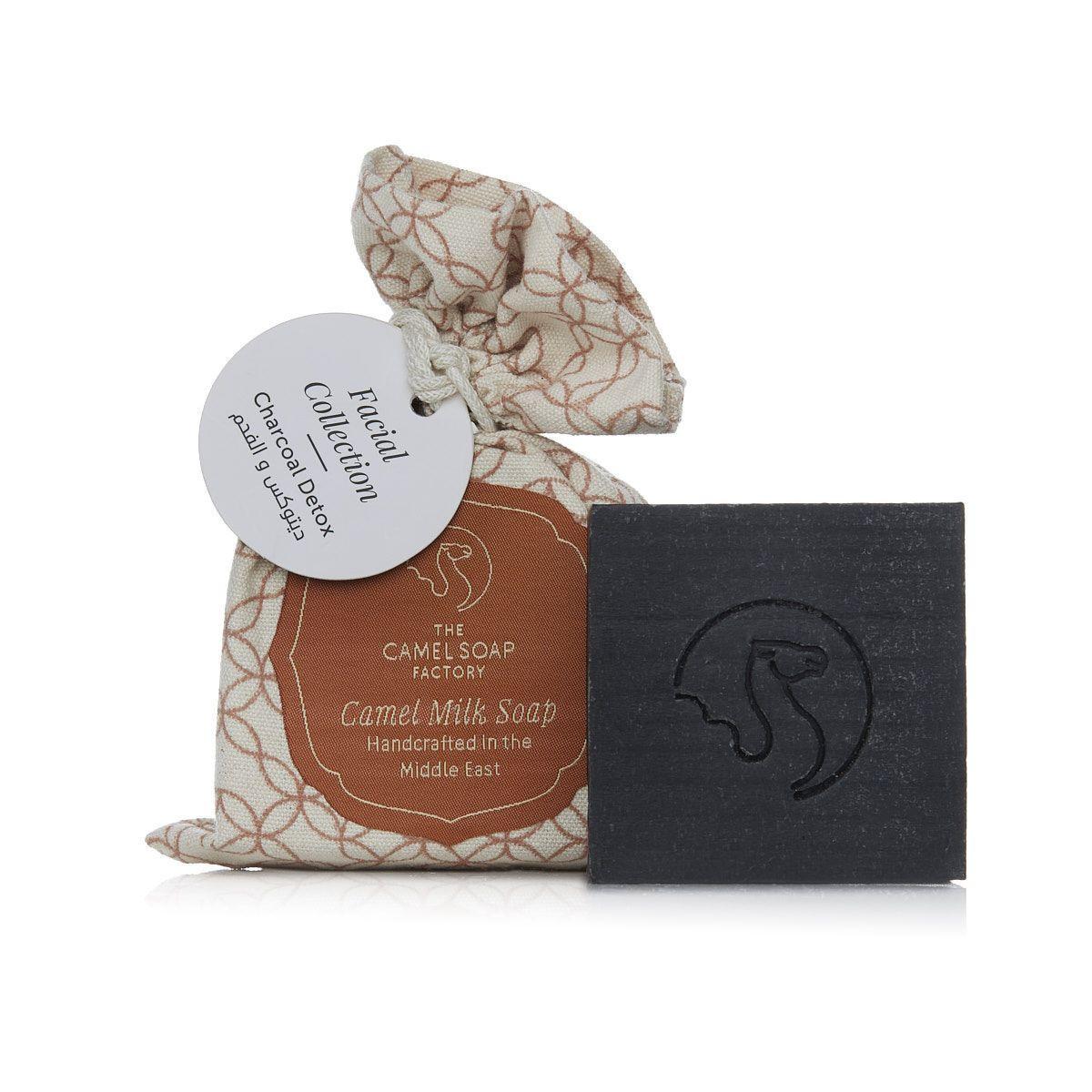 Camel milk soap - Charcoal & Tea Tree Face soap