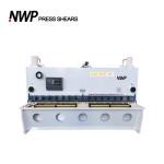 Nanjing Weipu machine hydraulic shearing machine sheet metal guillotine cutting machine