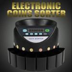 Automatic Electronic Money Euro Coins Sorter & Coin Counter