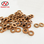NANTAI Common Rail Injector Copper Washer for Nozzles F00VC17503 F00VC17504 1.5mm 2mm 2.5mm