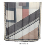Wholesale selling plaid style warm scarf