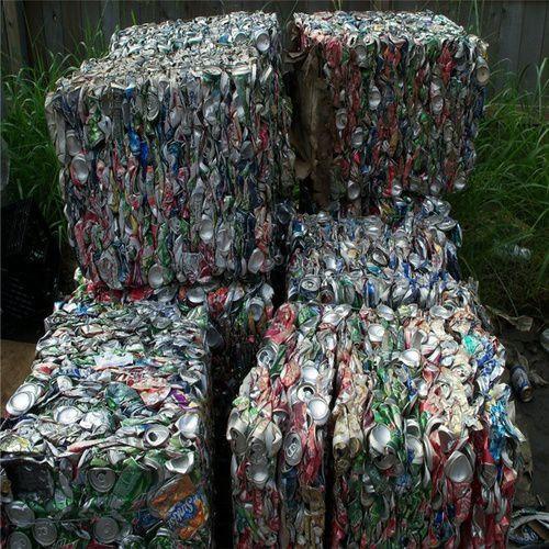 Baled Aluminum Used Beverage Can Scrap ubc
