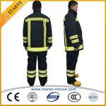 EN Met New Type Of Fire Suit For Fire Brigade In China Fireman Uniform