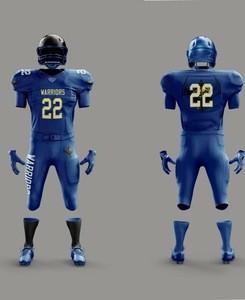 Fully Sublimated Custom made American football uniform