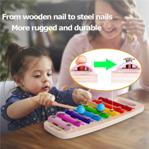 2020 Wholesale Hammering Pounding Kids Baby Learning Machine Wooden Toys For Toddlers