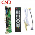 HDVX9-AS V59 universal  lcd led crt  tv mainboard spare parts for television