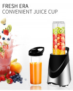 Home Appliance 2 Blades  Electric Mini Juice Blender Rechargeable Fruit Processor