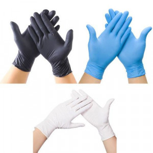 Plastic Clear Disposable Gloves Garden Restaurant Home Food Baking Tool 200Pcs