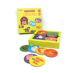 Educational Kids Toys 3d puzzle 16 Matching Pairs Preschool Memory Matching Games jigsaw puzzle Develop Brain Puzzle