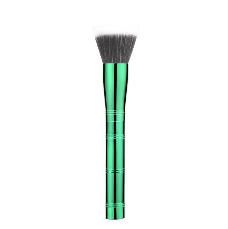 Professional Powder Aluminum handle brush makeup brush with high quality