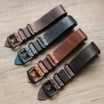 18mm 20mm 22mm  Retro Genuine Leather Watch Band NATO Design Vintage Watch Strap Bracelet