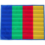 4 Column And Stand colorful Desktop Pocket Chart