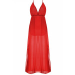 Women Casual Garment Factory In Italy New Design Maxi Dresses With Sleeveless