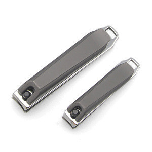 High Quality Custom Straight Nail Clipper Set Stainless Steel