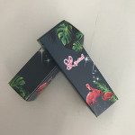 wholesaler cheap custom Cosmetic liquid lipstick  art paper box packaging in stock