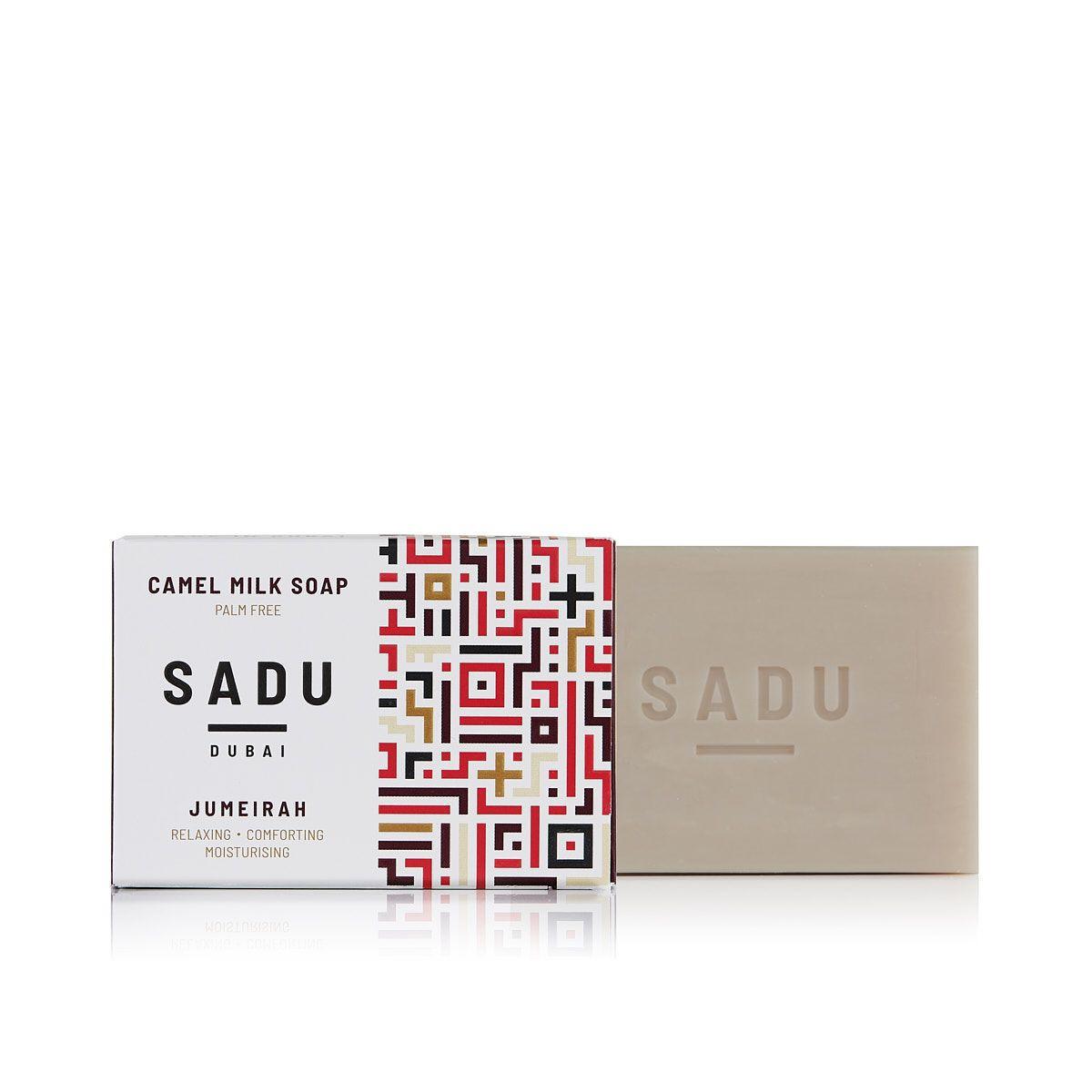 Camel milk soap Vanilla Wood - SADU collection
