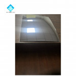 2.0mm R1200 R1400 R1600 Aluminum Float glass convex mirror for car and motorcycle 305*407mm