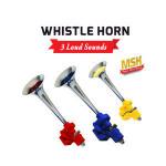 High quality loud air horn whistle horn 24v iron chrome coated trumpet