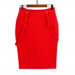 Wholesale Stretch Plus Size Pencil women Skirt casual bodycon lady cotton skirts
