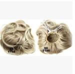 New style Curly Hair Chignon Drawstring Clip In On Big Hair Bun Curly Hair Piece 30grams