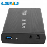 ZSCMALLS Ultra Slim External Hard Disk Portable USB3.0 For PC Desktop Laptop 500GB 1TB Capacity Hard Drive Mobile Hard Disk