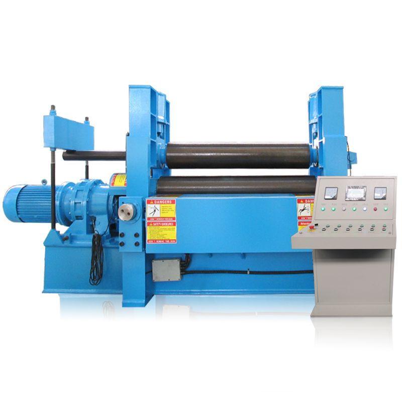 W11S series 3 Rollers Hydraulic Plate rolls Sheet metal  roll bending machine upper roller Hydraulic Rolling Machine