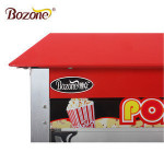 Factory Price High Capacity Kettle Food Popular Snack Vending Machines 8 Oz Mobile Commercial Popcorn Machine With Cart