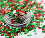 Mixed glitter,chunky glitter rainbow colors body glitter cosmetics grade ornament
