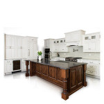 Solid wood door material base cabinet solid wood kitchen