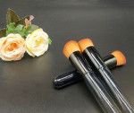 Flat Top Makeup Brush makeup brushes portable Cylindrical  makeup brushes sets private label