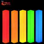 2020 New product Outdoor Rectangle Led Pillar Lights For Wedding Party Home Event Bar Night Club