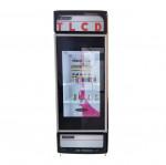 Lcd Screen Refrigerator Door Touch Transparent Indoor Online Support 1 YEAR Commercial Advertising TN