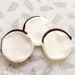 OWP085 wholesale 12oz plain canvas round coin purse promotion item