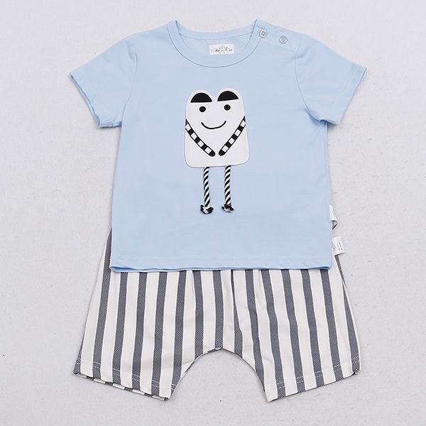 Short Sleeve Baby Cloth Set Baby Shorts Kids Wear
