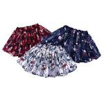 Puffy Pleated Flower Cotton Baby Tutu Dress Baby Girl Skirt