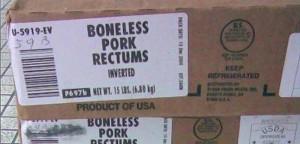 Frozen Pork Rectum,Pork Intestine For Export