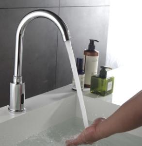 Cheap Price Single Handle Automatic Sensor Faucets Smart Automatic Sensor Water Tap