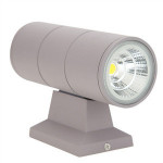 7W COB LED Indoor Outdoor Wall Lamp Waterproof Aluminum Up Down Porch Light