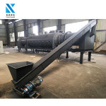 Factory supply rotary kiln for charcoal making machinery
