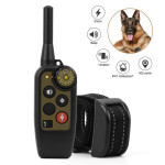Newest Pet Trainer  Waterproof 500m Remote Electric Control Pet Dog Training Shock Collar for 1/2 dogs