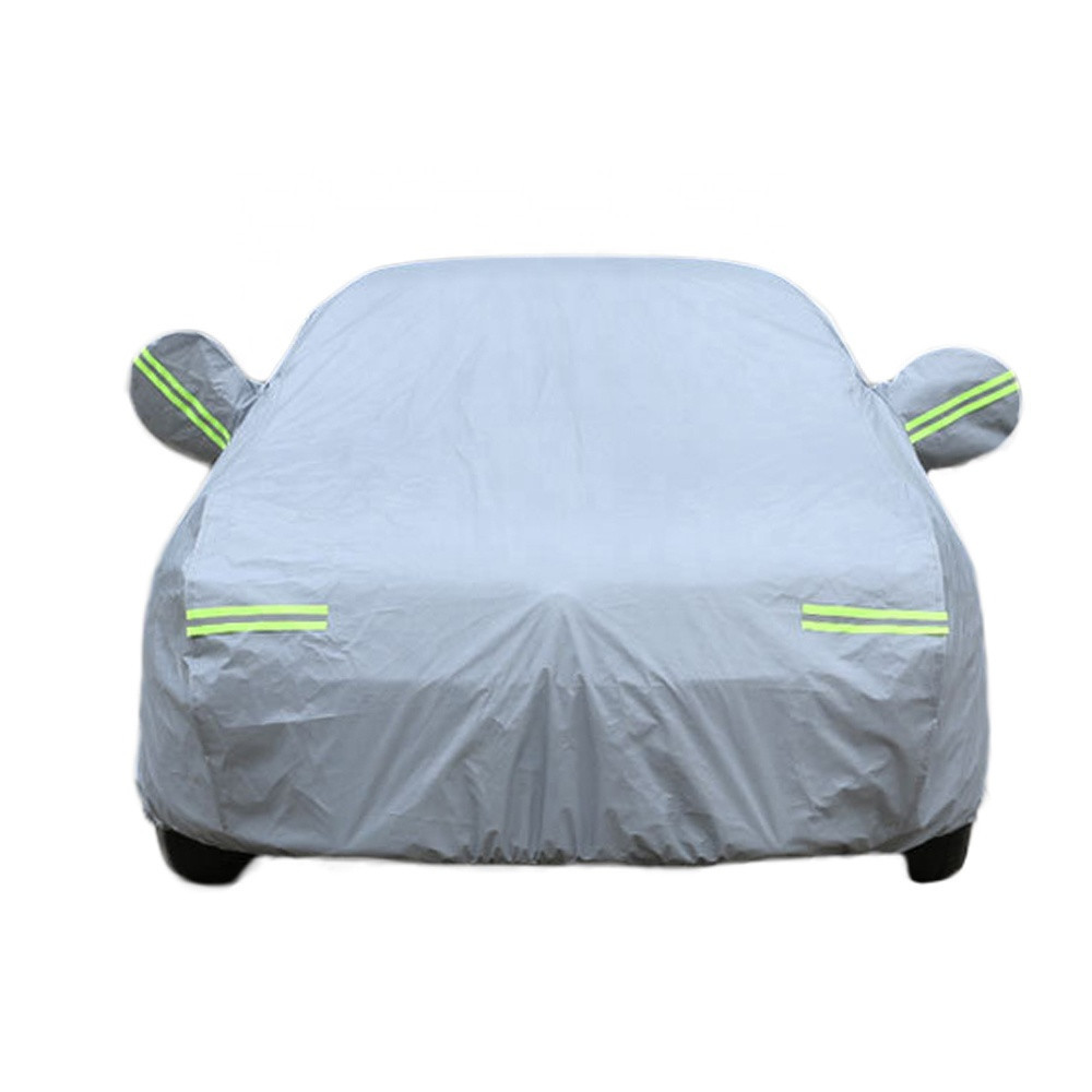 Plus cotton thickening snow cover car cover Oxford sunshade aluminum foil car clothing car cover