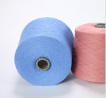 cotton and nylon wool  blended yarn