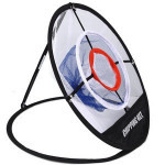 Foldable Golf Cut Ball Net Golf Training Aids Metal Net Indoor Outdoor Chipping Pitching Cages Practice Easy Three-layer Net