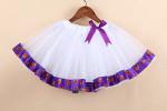 new fashion halloween Pumpkin tutu skirts girls holiday tutus baby dance wears