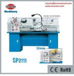 SP2111 gap bed lathe machine gear cutting machine