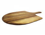 Amazon Hot Sale  Baking wooden pizza peel shovel pizza cutter paddle vegetable fruits cutting board pizza tools