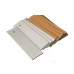 high quality paulownia wood  slats  Hot sale  50mm wooden blinds component