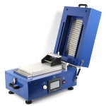 Battery Lab Equipment Electrode Heat Hot Vacuum Film Coater Coating Machine